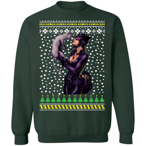Catwoman and Cat Ugly Christmas Sweater