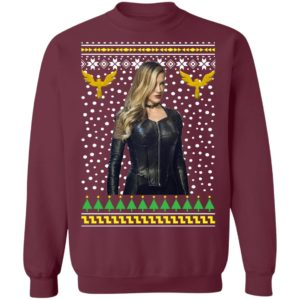 Black Canary Sara Lance Ugly Christmas Sweatshirt