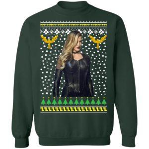 Black Canary Sara Lance Ugly Christmas Sweatshirt