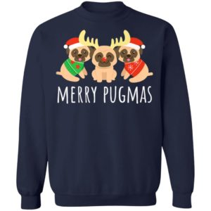 Merry Pugmas Pug Dog Ugly Christmas Sweater