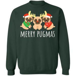 Merry Pugmas Pug Dog Ugly Christmas Sweater