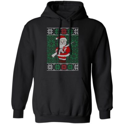 Mens Santa Gun Hunting Ugly Christmas