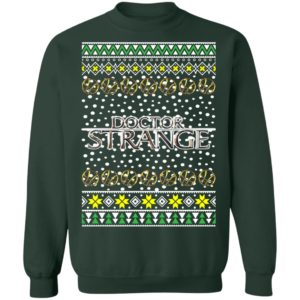 Dr Strange Logo Ugly Christmas Sweater