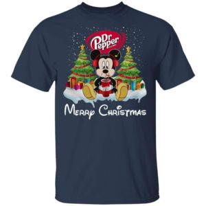 Mickey Mouse Drink Dr Pepper Merry Christmas Shirt, Hoodie, Long Sleeve