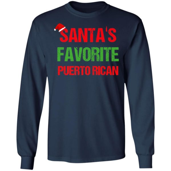 Santas Favorite Puerto Rican Funny Ugly Christmas