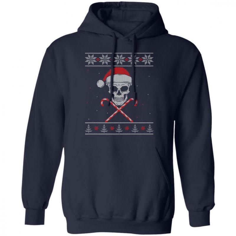 Skull Skeleton Ugly Christmas