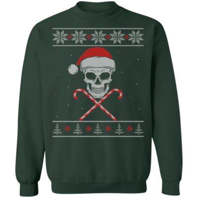 Skull Skeleton Ugly Christmas Sweater