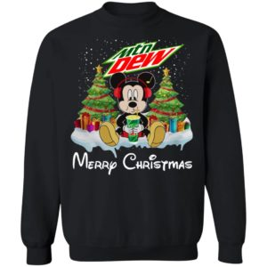 Mickey Mouse Drink Mtn New Merry Christmas Shirt Hoodie, Long Sleeve