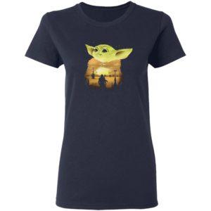 Baby Yoda Sunset Shirt