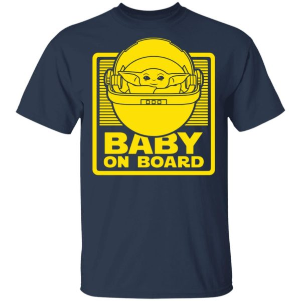 50 year old baby on board shirt