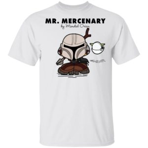 Mr Mercenary Mandalorian Kid T-Shirt