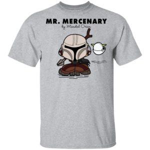Mr Mercenary Mandalorian Kid T-Shirt