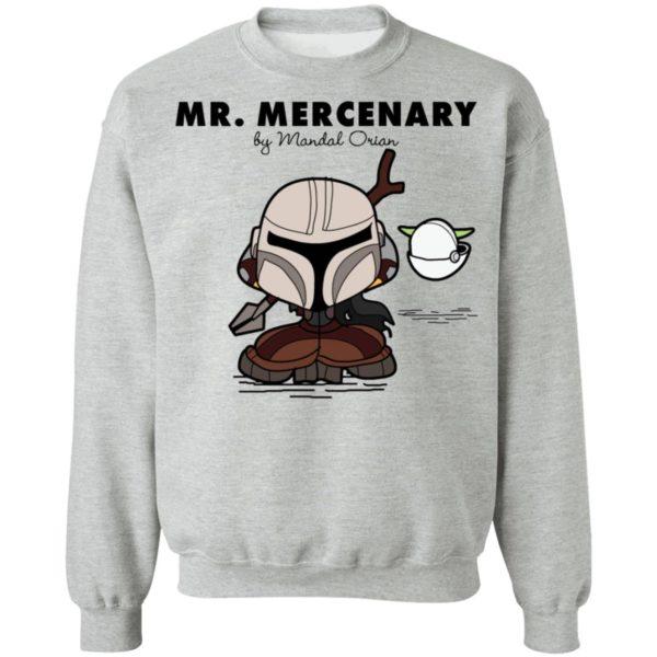 Mr Mercenary Mandalorian Kid