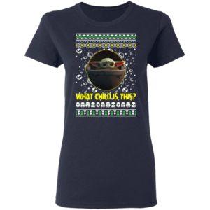 Baby Yoda In The Mandalorian Ugly Christmas