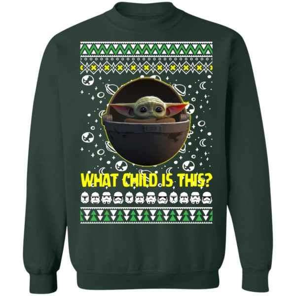Baby Yoda In The Mandalorian Ugly Christmas Sweater