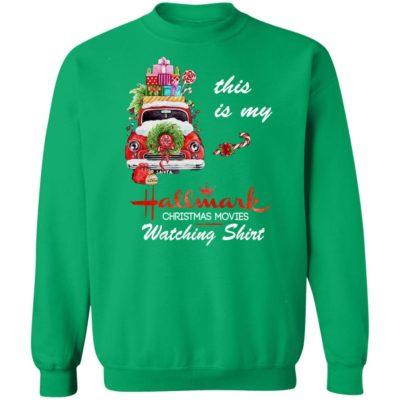This Is My Hallmark Christmas Movie Watching Tee, Sweatshirt, Hoodie, Long Sleeve