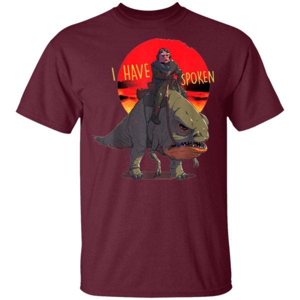Star Wars The Mandalorian Kuiil Blurrg I Have Spoken Shirt