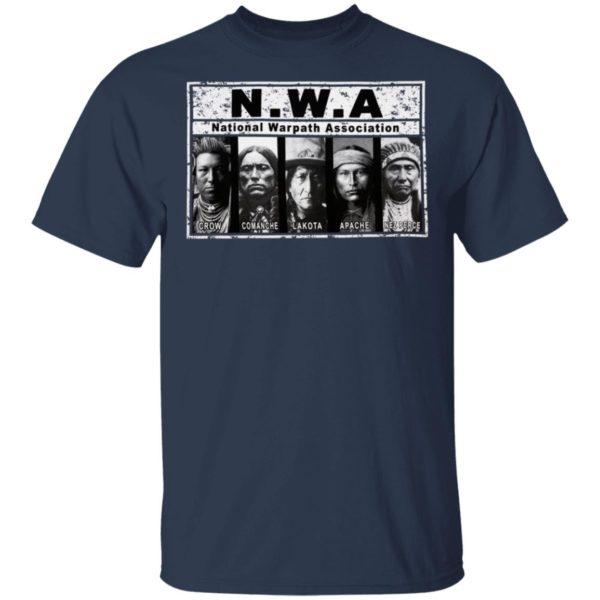 Native Warpath Association NWA Shirt