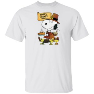Snoopy Happy Thanksgiving Happy Turkey Day Shirt Hoodie, Long Sleeve