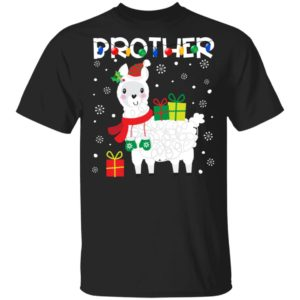 Brother Llama Christmas Shirt