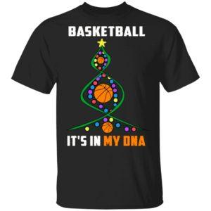 Basketball Christmas Tree Christmas Shirt