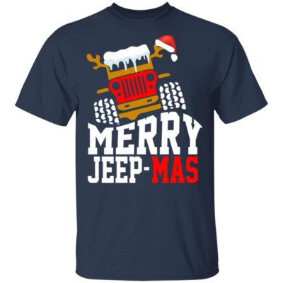 Merry jeep mas shirt