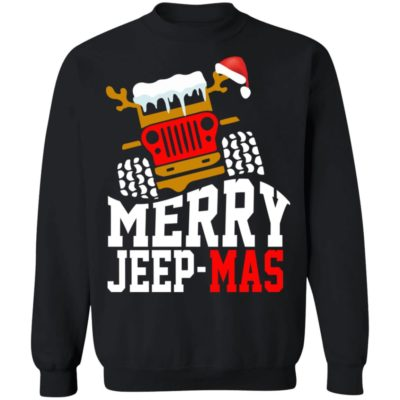 Merry jeep mas sweater