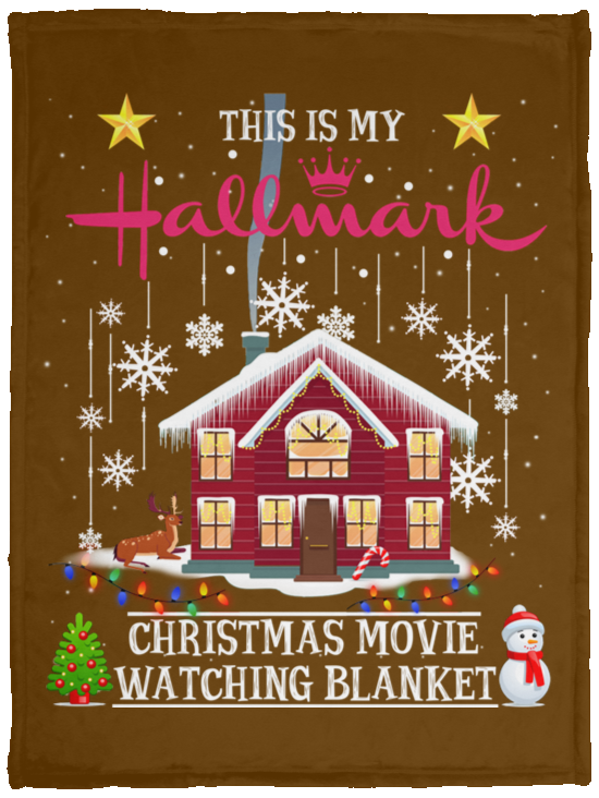 Hallmark Cozy Blankets This Is My Hallmark Christmas Movie Watching Blanket