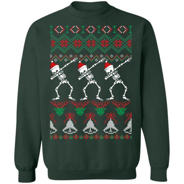 Skeleton ugly christmas sweater