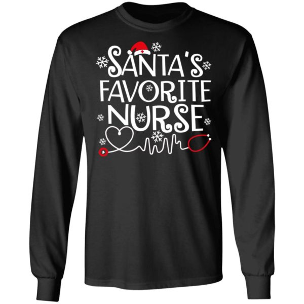 Santa favorite nurse christmas