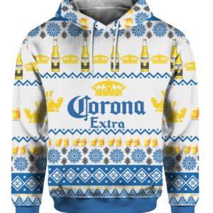 Corona Extra Beer Bottles 3D Print Ugly Christmas