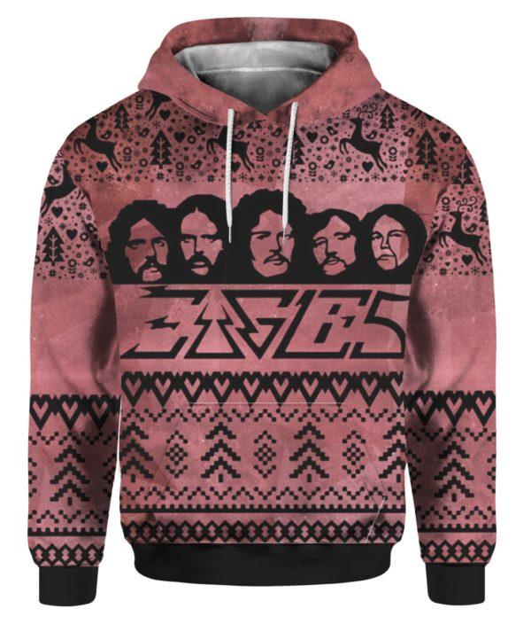 Eagles Band 3D Print Ugly Christmas Sweatshirt