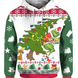 Grinch Stole Christmas Ugly 3D Print Sweatshirt
