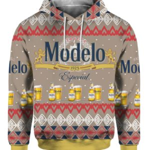 Modelo Especial Beer 3D Print Ugly Christmas Sweater