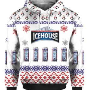 Icehouse Beer 3D Print Ugly Christmas Sweater