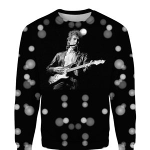 Bob Dylan Robert Allen Zimmerman Rock 3D Print Hoodie Sweater Shirt
