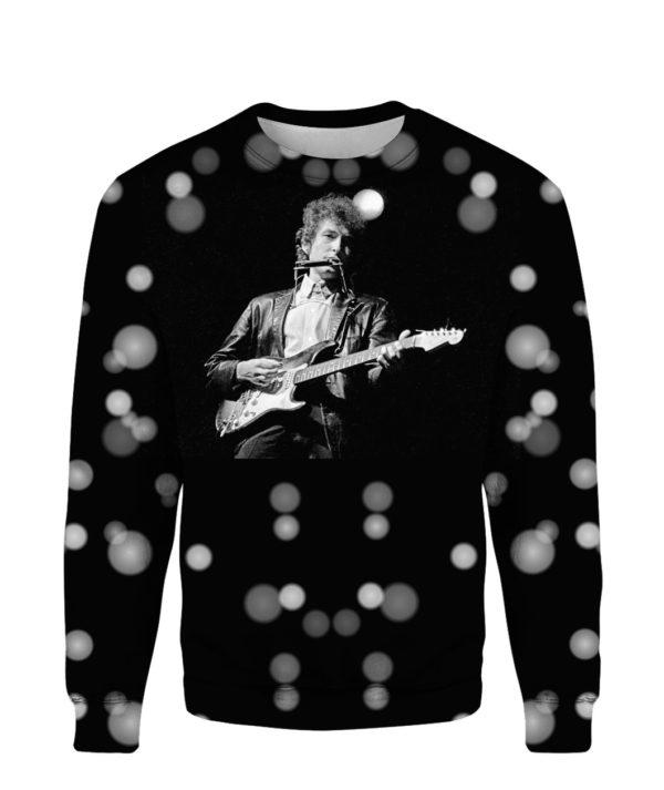 Bob Dylan Robert Allen Zimmerman Rock 3D Print Hoodie Sweater Shirt