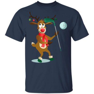 Reindeer Hockey Sports christmas shirt