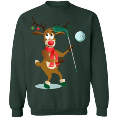Reindeer Hockey Sports christmas