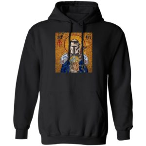 Hagia Sophia Knight and Baby Yoda Hoodie, Sweatshirt