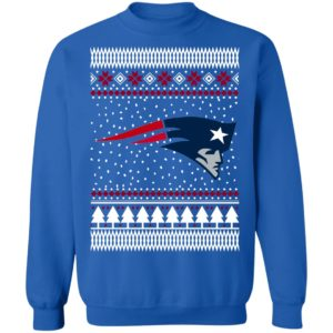 England Patriots Ugly Christmas Sweatshirt