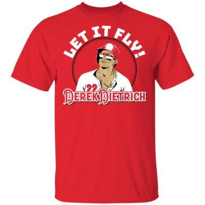 Let It Fly Derek Dietrich Long Sleeve T-shirt