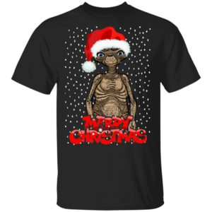 ET The Extra Terrestrial Christmas Sweatshirt