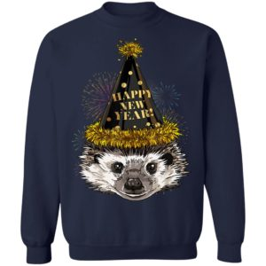 Hedgehog Happy New Year 2020 New Years Eve Party