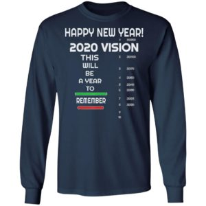 Happy New Year, A 2020 Vision - Funny New Years Eve