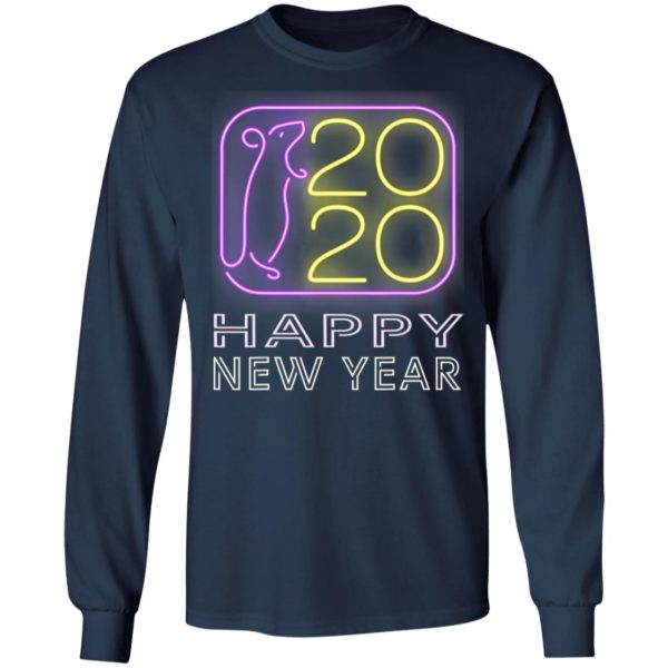 Happy New Year 2020 T-Shirt Year Of The Rat