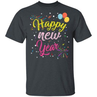 Happy New Year 2020 Firework T-Shirt