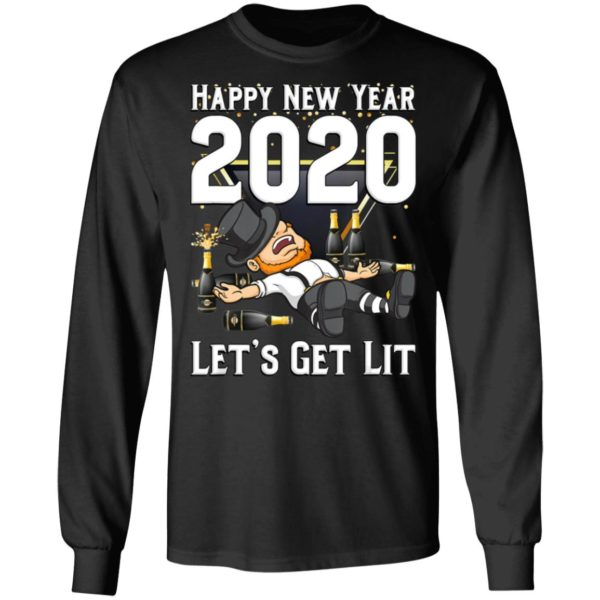 Happy New Year 2020 Let's Get Lit
