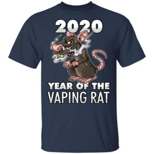 Happy New Year 2020 - Year Of The Vaping Rat T-Shirt