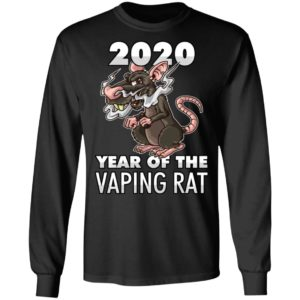 Happy New Year 2020 - Year Of The Vaping Rat